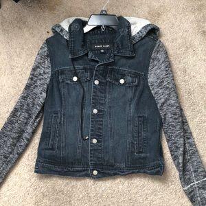 Black River Jean Jacket with Detachable Hood